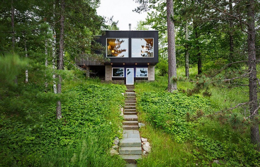 Hyytinen Cabin in Northern Minnesota, Salmela Architect 2