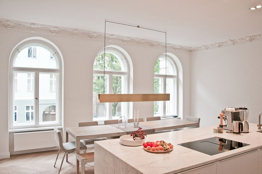 KC Apartment in Berlin by Set-Office Architects