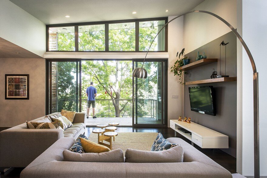 Modern Benches Home in Salt Lake City by Imbue Design