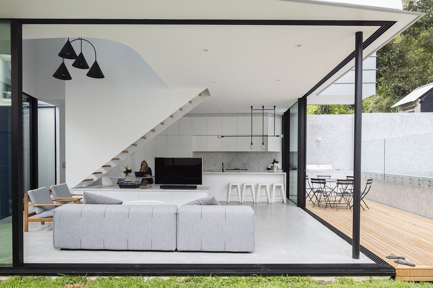 Peekaboo house by carter williamson architects - Maison camperdown carter williamson architects ...