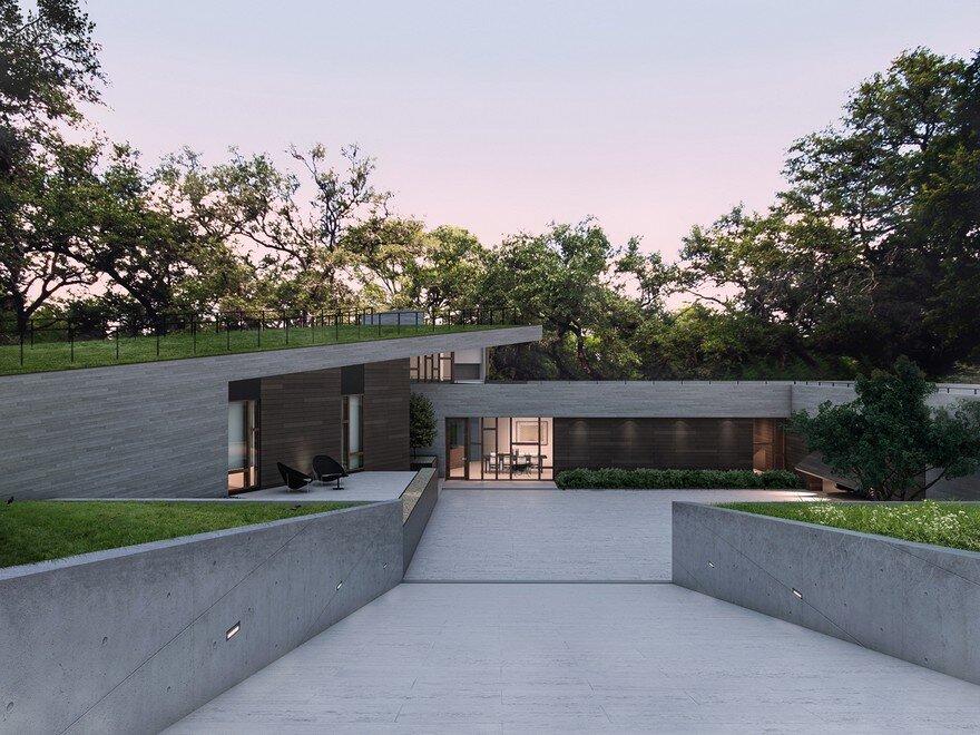 Pinwheel Residence in Texas by Baldridge Architects