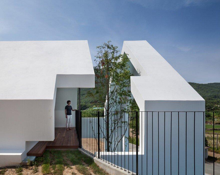 Pool Villa in South Korea by Rieuldorang Atelier 2
