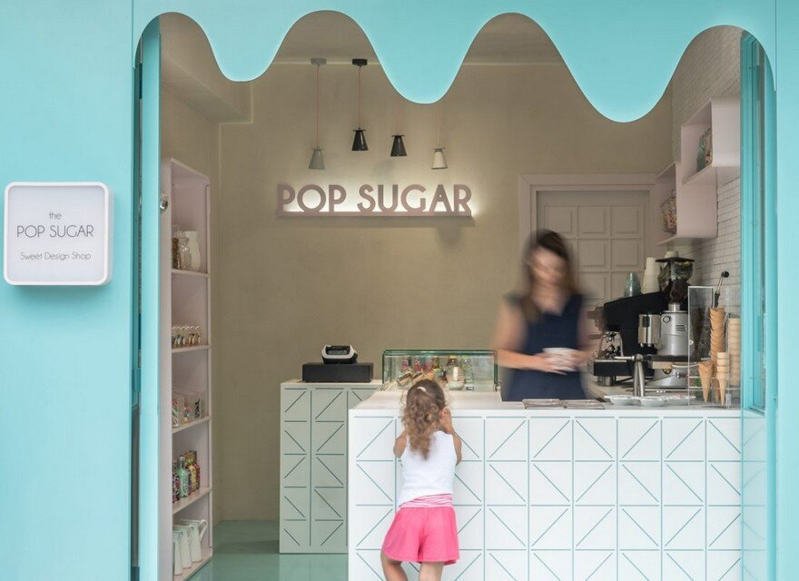 Pop Sugar-Sweet Shop in Stavros, Chalkidiki by Normless