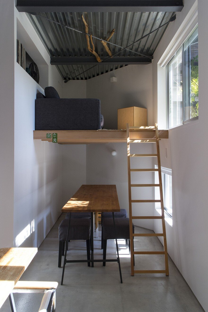 Small Smart House In Tokyo By Tomokazu Hayakawa Architects
