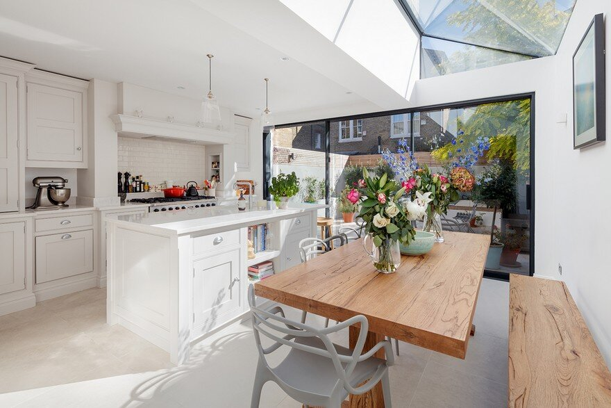 Victorian Mid Terrace House Transformed by Granit Architects into a Bright Family Home