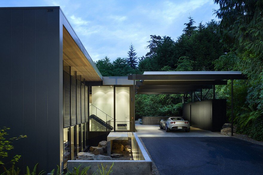 Wood Block Residence / Chadbourne + Doss Architects
