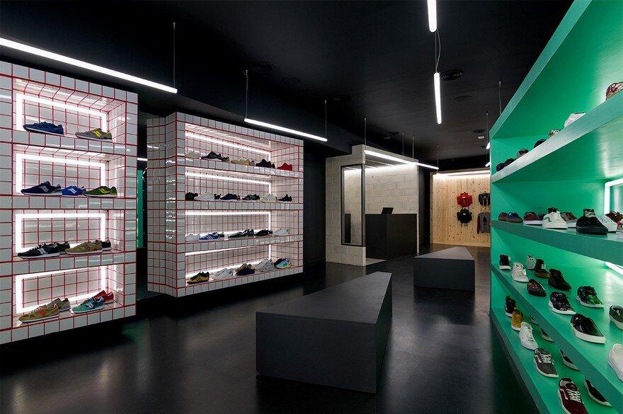D Brand Store in Valencia by Nihil Estudio