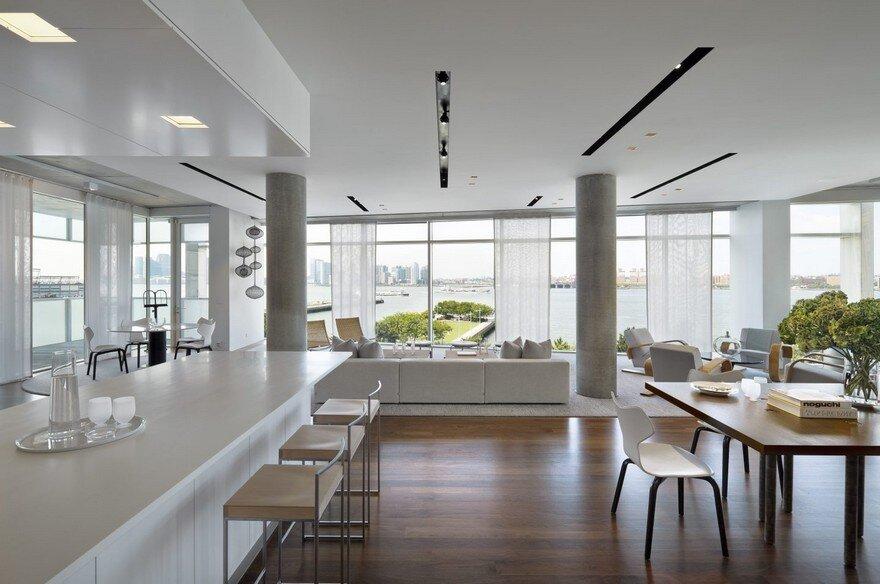 Hudson River Pier Residence by SheltonMindel 6