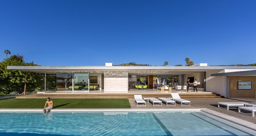 Mcelroy residence in california by eyrc architects - Limposante residence contemporaine de ehrlich architects ...