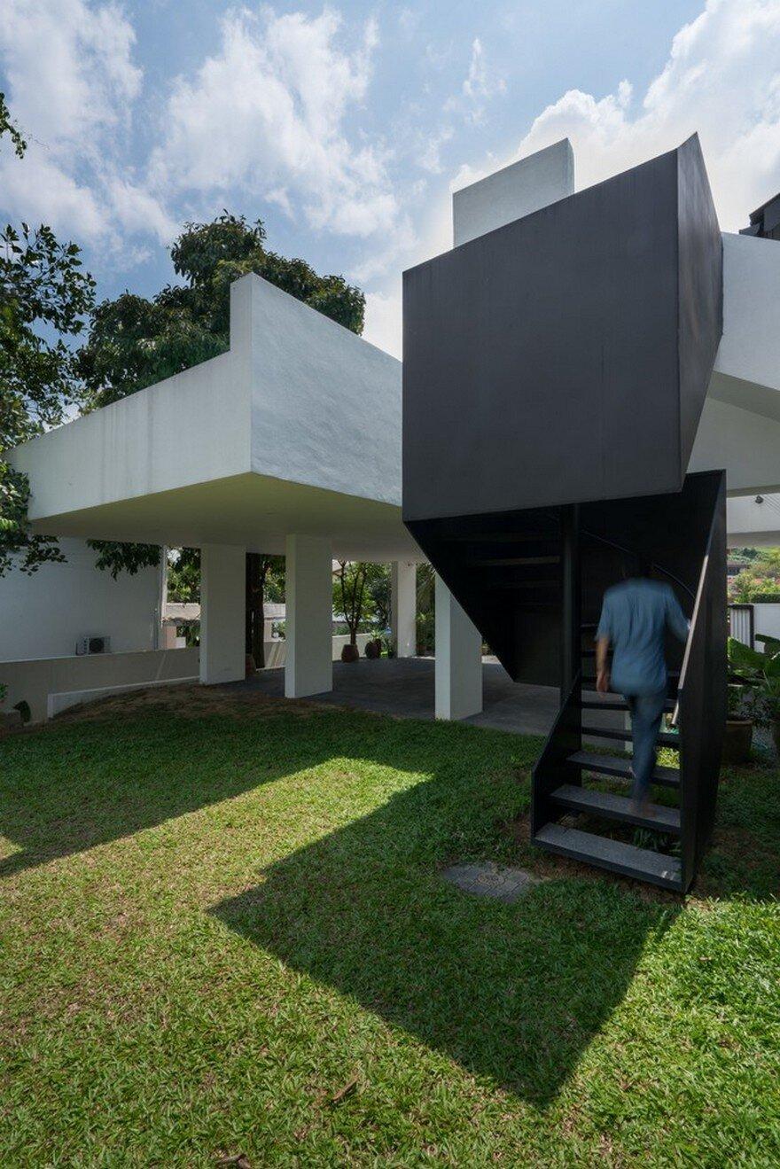 Künstlerisch Bungalow Modern Galerie Von E In Kuala Lumpur Renovated By Fabian