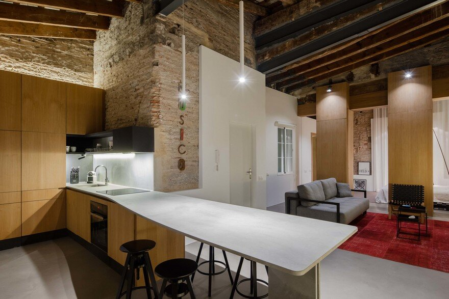 Musico Apartment in Valencia by Roberto Di Donato Architecture