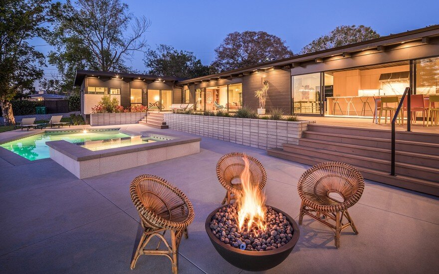 One Story 1960s Ranch Style Home Renovated In California