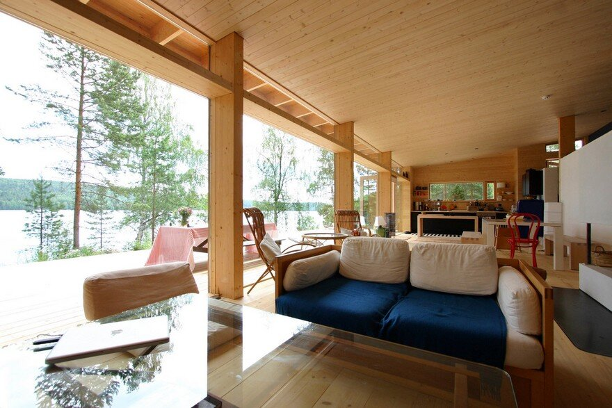 Summer Villa Built on the Shore of a Beautiful Lake in Central Finland 2