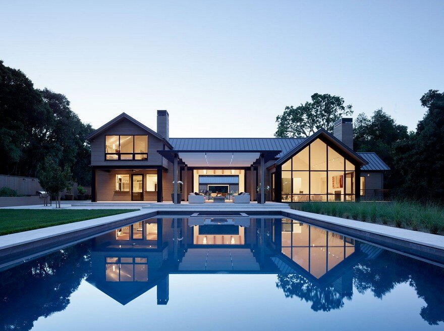 Woodside Residence by Charlie Barnett Associates Architects
