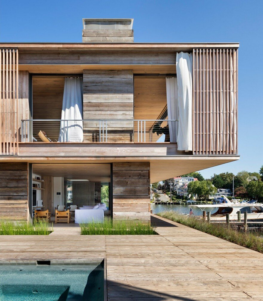 Award Winning Green Home Designs: Acton Cove House By Bates Masi Architects