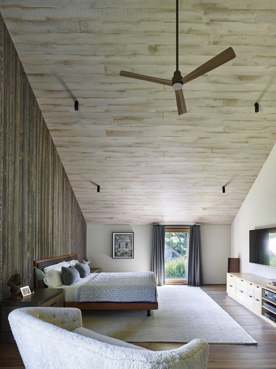 bedroom, Maziar Behrooz Architecture