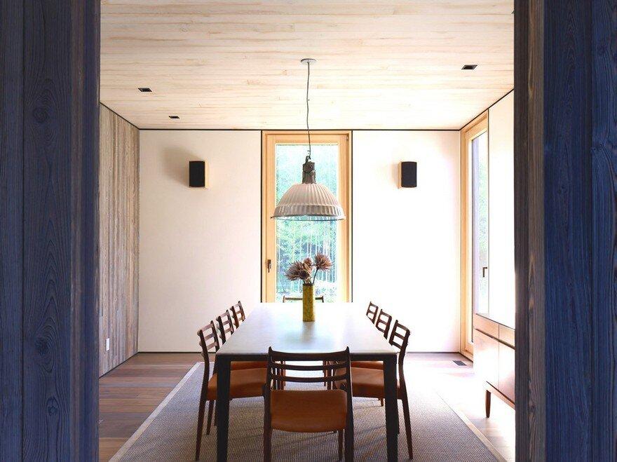 dining room, Maziar Behrooz Architecture