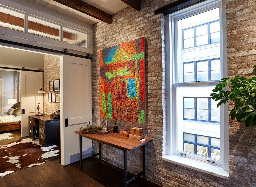 Interior Gut Renovation Of A High Ceiling Loft Space In