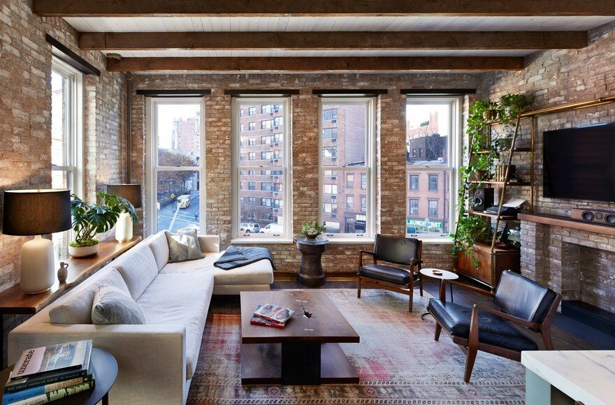 Interior Gut Renovation of a High-Ceiling Loft Space in Manhattan