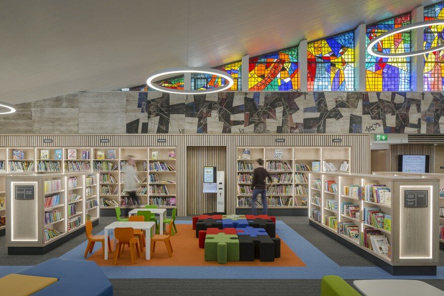 Modern Library in Athy, Ireland