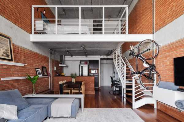 Sao Paulo Loft Renovation by Treszerosete Studio