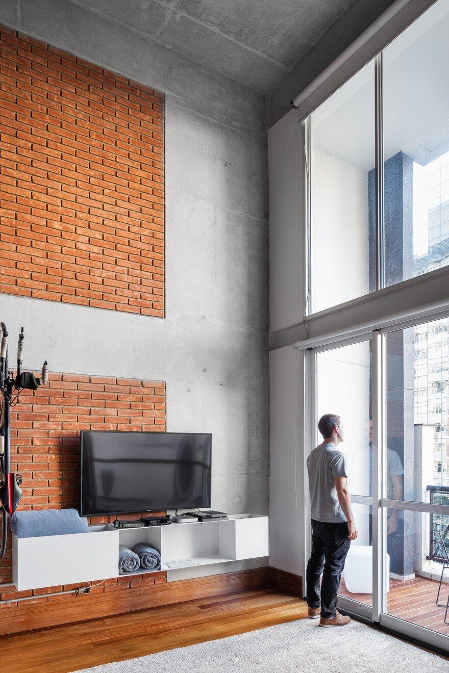 Sao Paulo Loft Renovation By Treszerosete Studio
