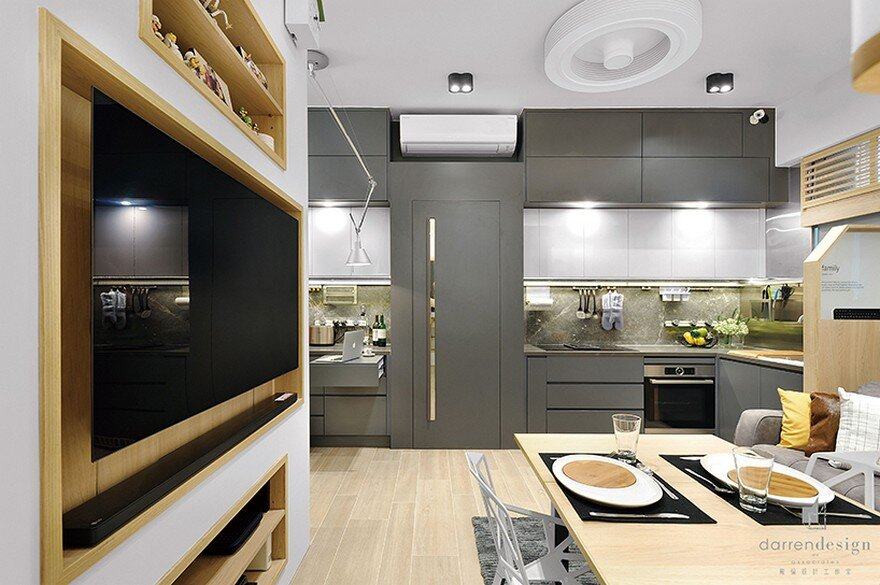 A Typical Mini Apartment Design In Hong Kong By Darren Design