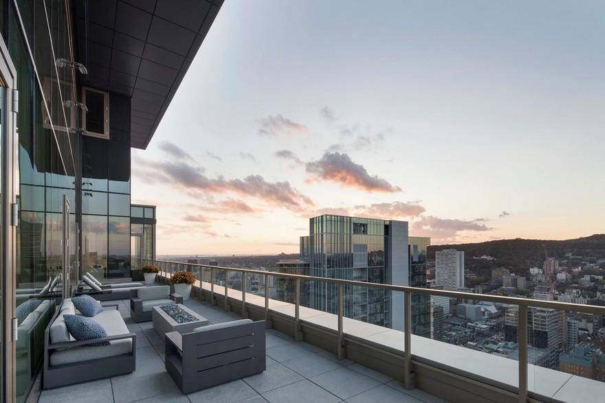 Belvedere Penthouse in Downtown Montreal, Desjardins Bherer 12