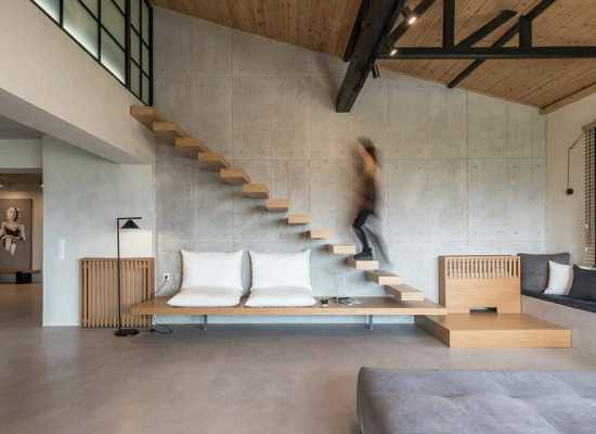 Contemporary Rural Apartment by Normless Studio