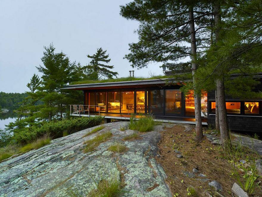 Four-Season Family Cabin in Southern Ontario by Ian MacDonald