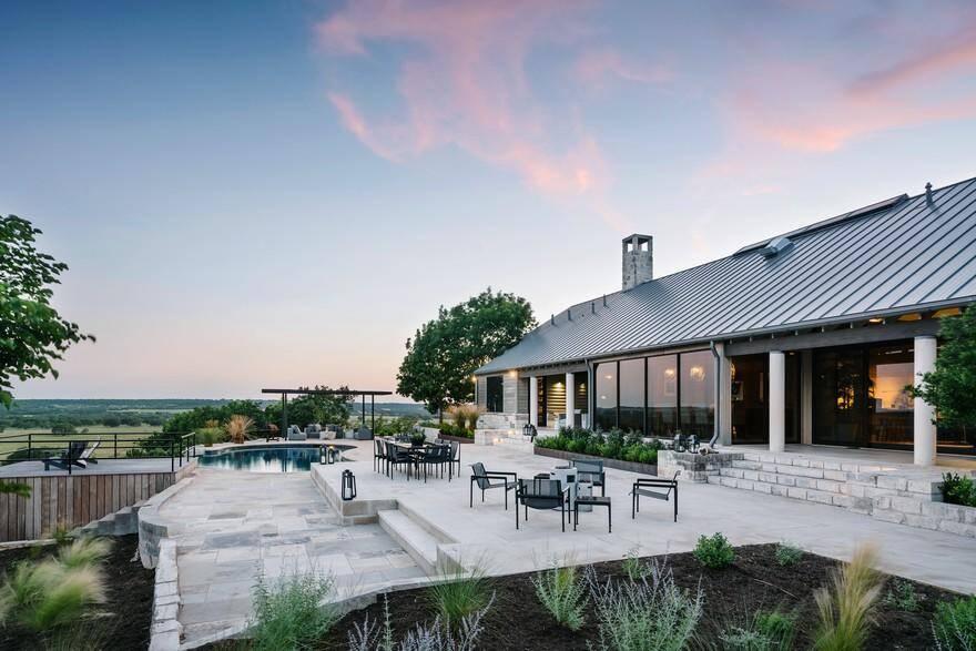 Lampasas Ranch House by Jay Corder Architect