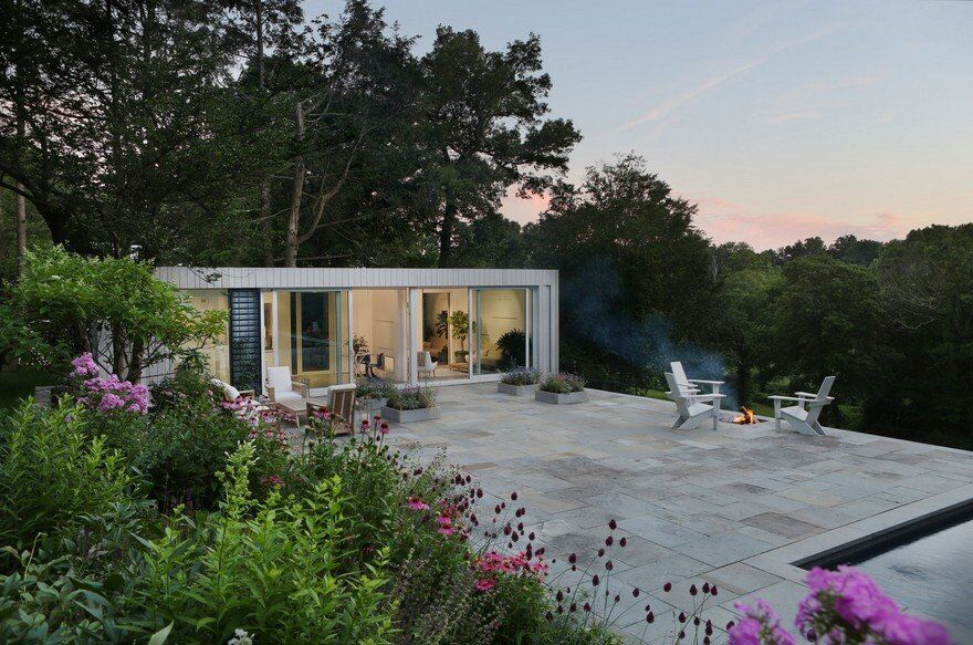 New Canaan Retreat for a Landscape Architect and Her Family