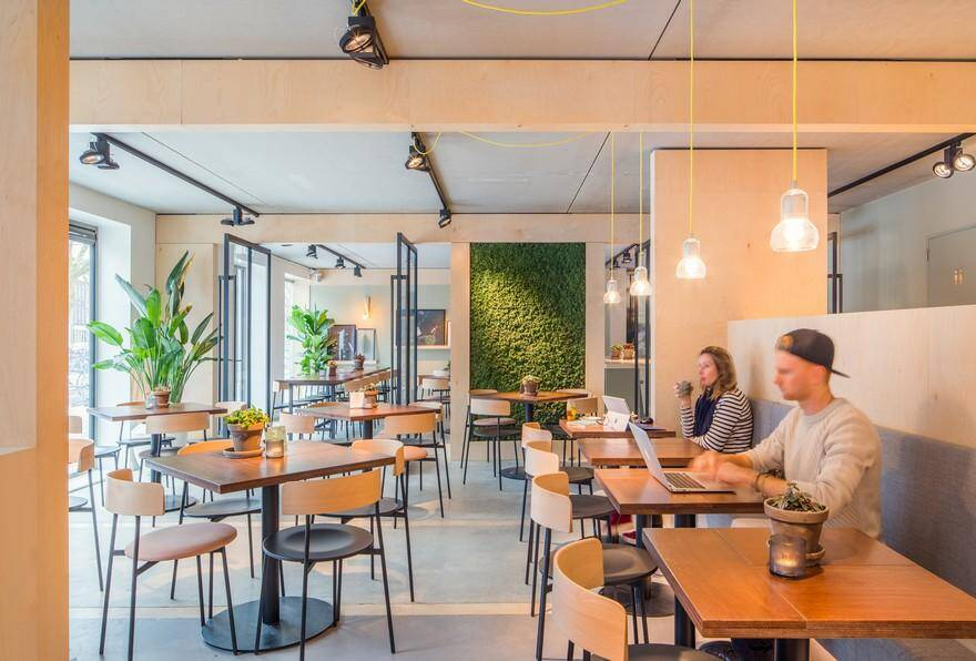 Salad Bar in Amsterdam – SLA Amstelveenseweg by Standard Studio
