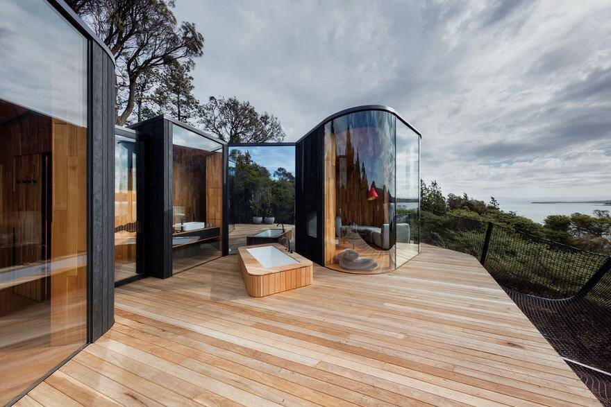 Coastal Pavilions by Liminal Studio: Freycinet Lodge