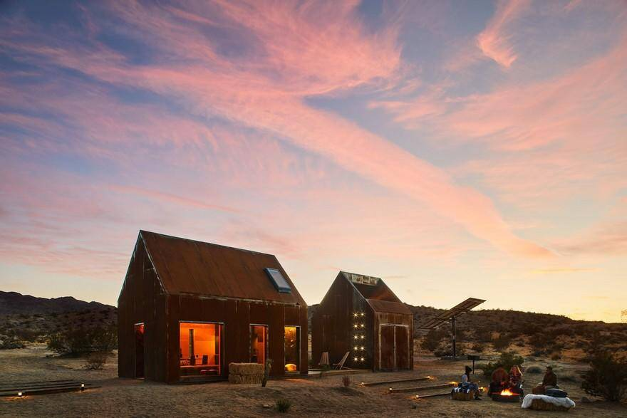 Off-Grid Cabin in Joshua Tree National Park: Folly by Cohesion 14