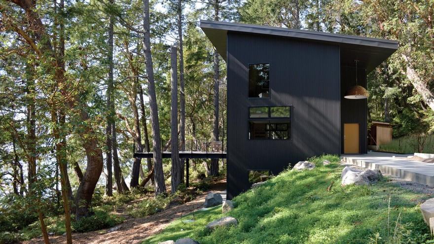 Salt Spring Residence, Lundberg Design