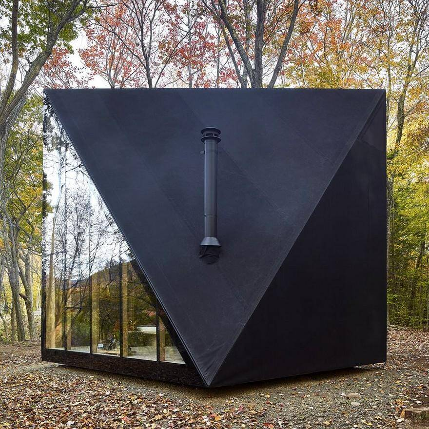 Tiny Home Designs: Triangular Shape Tiny House By BIG