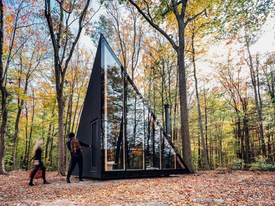 Triangular Shape Tiny House by BIG – Bjarke Ingels Group