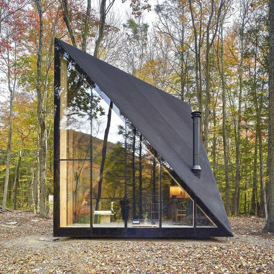 Triangular Shape Tiny House 2 - View Big Little House Small Houses Designed By Architects  Gif