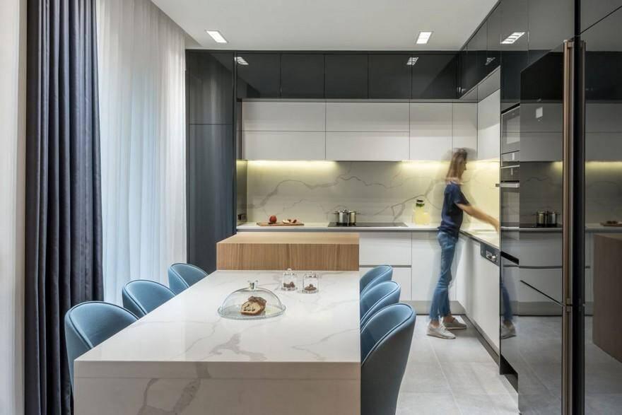 Contemporary Chic Apartment / Normless Studio 5