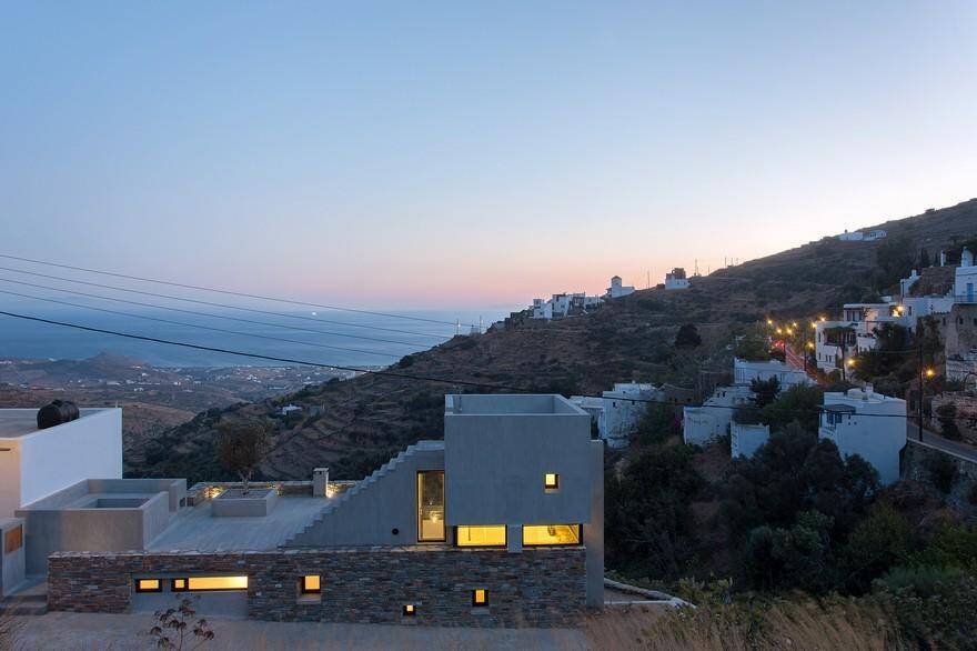 Contemporary Stone Residence in Triantaros Village, Greece / Aristides S. Dallas 12