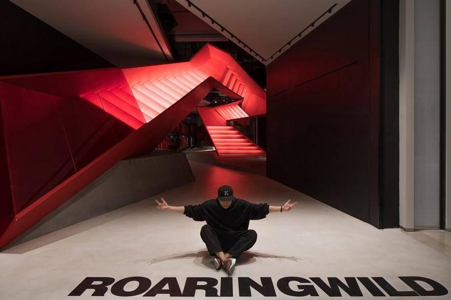 Roaringwild - Uniwalk Retail Store by Domani