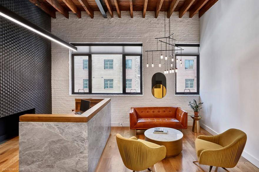 Williamsburg Loft Space Transformed into an Elegant Law Office
