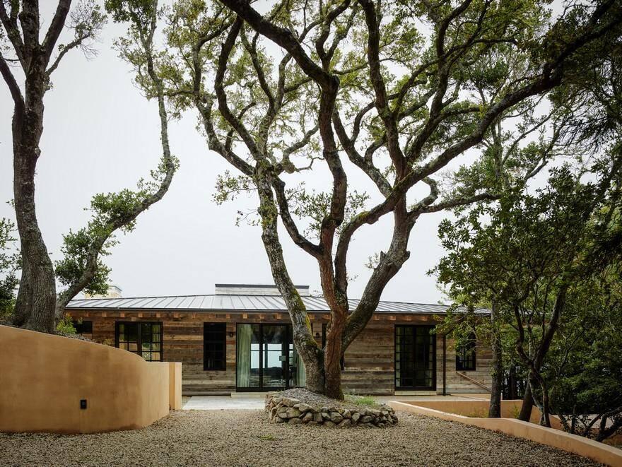 California Coastal Retreat Designed According to Indian Building Principles of Sthapatya Veda 1