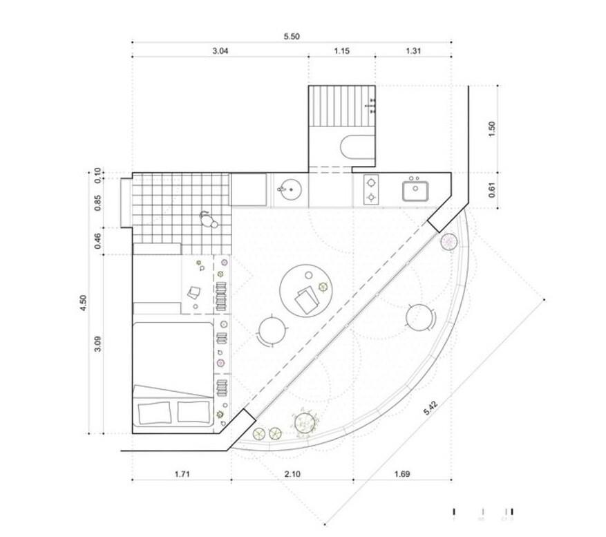 Chacarita Small Apartment in Buenos Aires, iR arquitectura 11