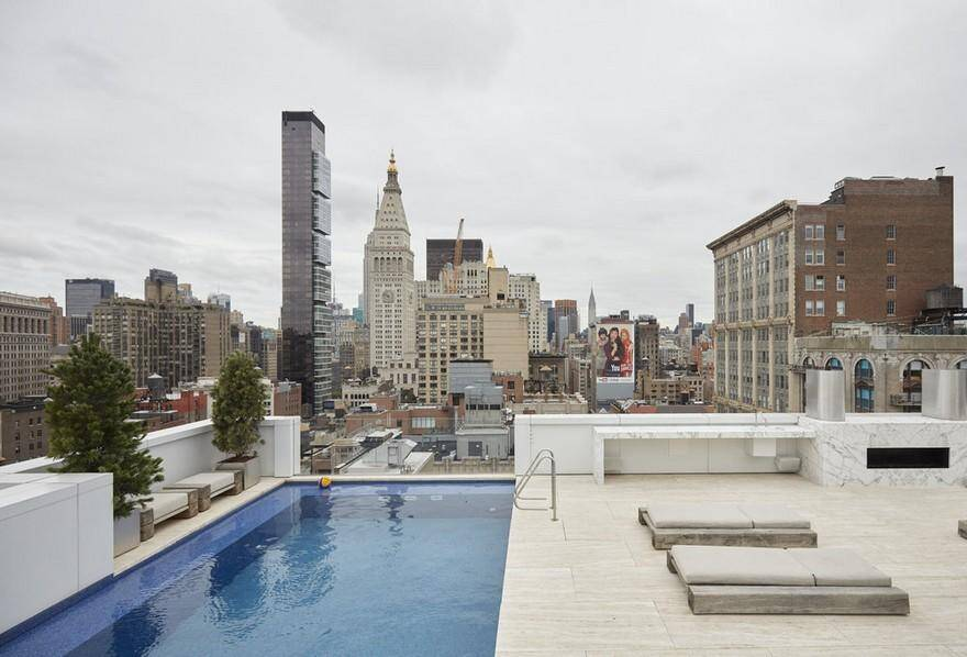 Park Avenue Penthouse and Rooftop in NYC, Soren Rose Studio 12