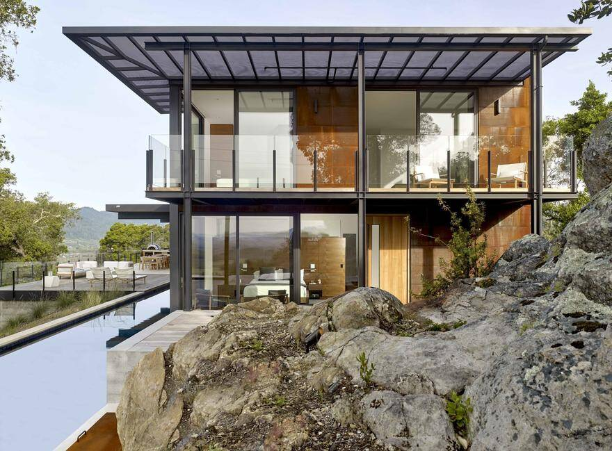 St. Helena Residence by Zack de Vito Architecture + Construction