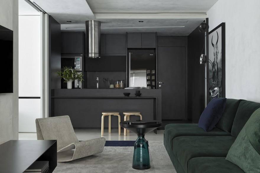 Vila Olimpia Apartment, Diego Revollo Arquitetura