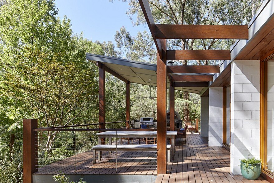 Warrandyte Riverside House , Adie Courtney Architect 9