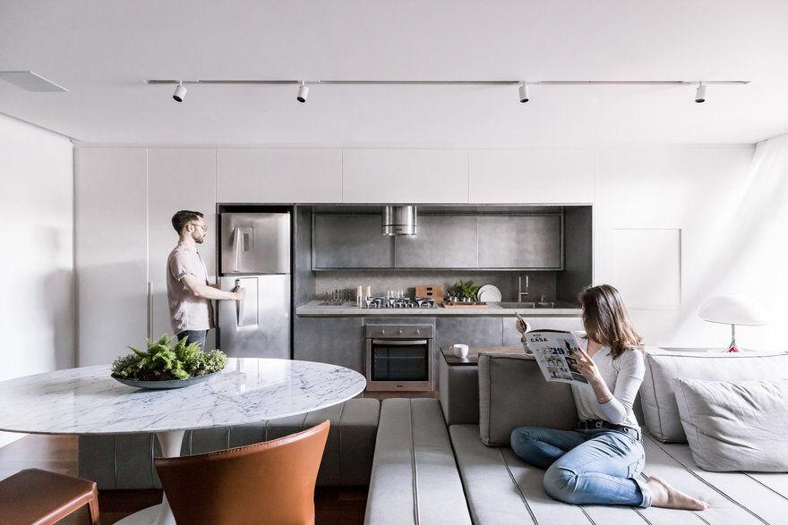 Anita Apartment in Porto Alegre, Ambidestro Arquitetura